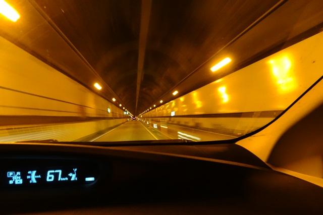 笹子トンネルを通って茅ヶ岳へ ...