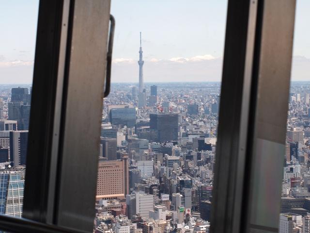 東京タワー→スカイツリー.jpg