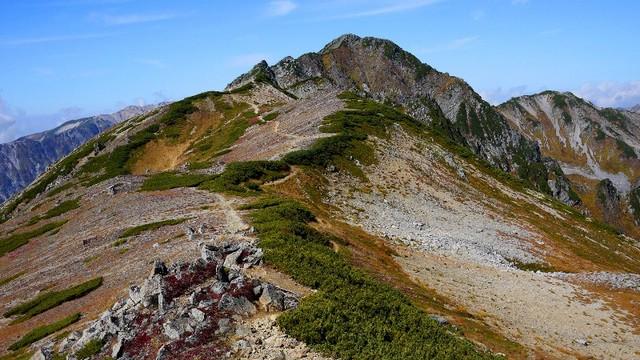 121005水晶岳稜線.jpg